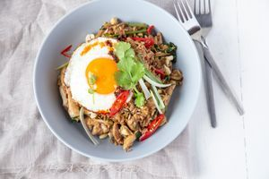 Brown Rice Chicken Nasi Goreng 1 1