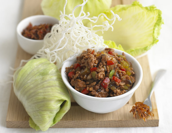 eu600Minced Pork in Lettuce Wrap San Choy Baojpg
