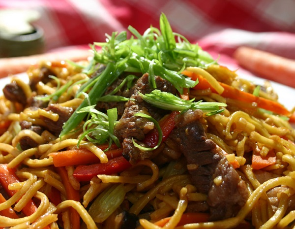Recipe Beef Chow Mein300