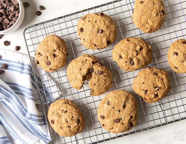 Recipe Sesame and  Soy Chocolate Chip Cookies